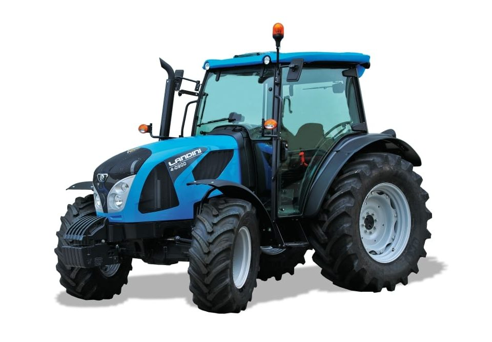 Landini tractors - New cab option for 4D Series