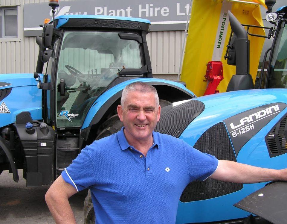 Richard O'Shea, Landini dealer, Ireland