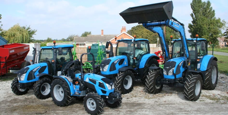Landini tractors at Clover Farm Services