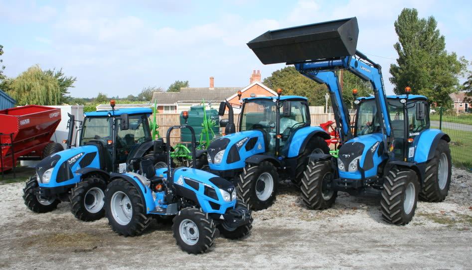 Landini tractors at Clover Farm Services