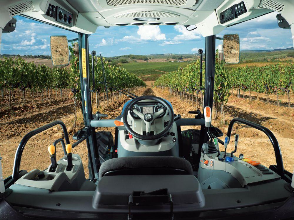 Sicurezza trattori - Cabina REX4