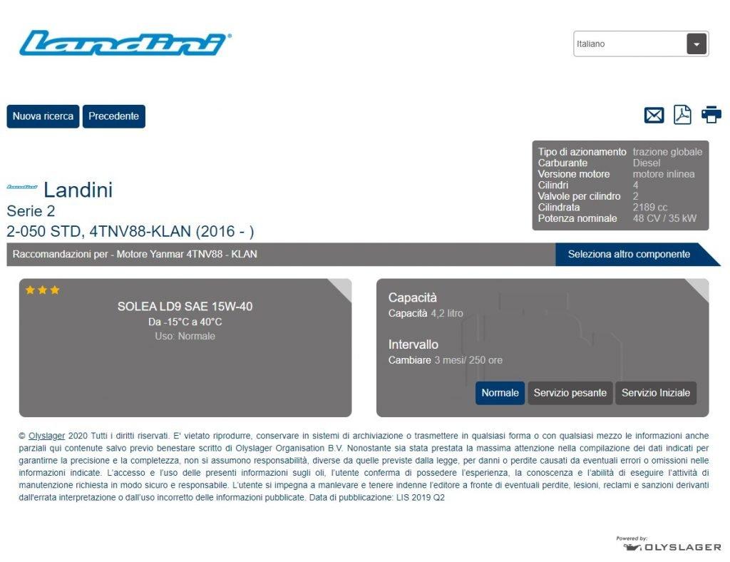 Oil Chooser_Landini Serie 2